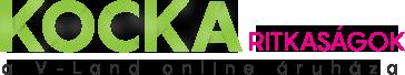 Kocka Ritkaságok Logo
